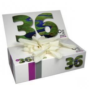 Confezione da 50 guanti in lattice non talcati, ambidestri, monouso, i...