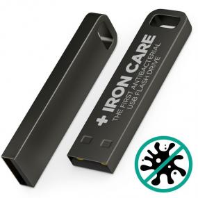 Chiavetta di memoria Antibatterica USB da 4Gb in lega metallica indefo...