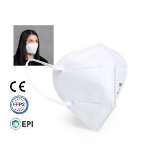 Maschera filtrante BIANCA 5 strati, DPI cat. FFP2 con certificato CE 0...