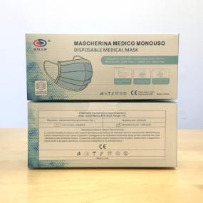 Mascherina Chirurgica DM Classe I, registrata al Ministero della Salut...