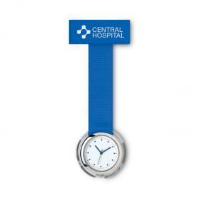 Orologio analogico da camice per infermiere, impermeabile. In polieste...