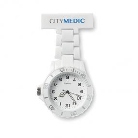 Orologio analogico per infermiere. 1 batteria bottone inclusa.