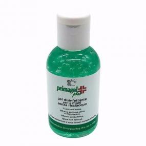 Flacone da 50ml con tappo dosatore di Primagel PLUS gel disinfettante ...