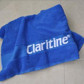Telo mare jacquard personalizzato sulla banda, 100% cotone, da 450gr. ...