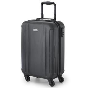 Trolley in ABS, con lucchetto a combinazione, interno foderato e con s...