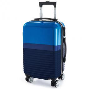 Trolley cabina in ABS e PC con lucchetto a combinazione, interno foder...