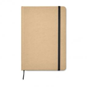 Notebook A5 in materiale riciclato con segnapagina ed e...