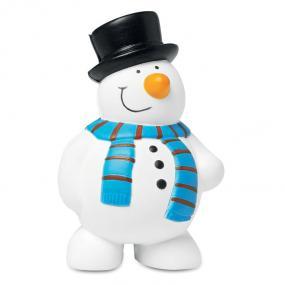 Antistress pupazzo di neve in PU.