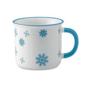 Tazza vintage da 290 ml in ceramica con motivi natalizi...