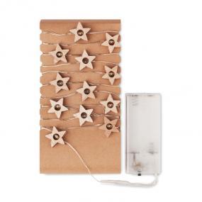 Stringa con 20 LED con decorazioni a forma di stella in...
