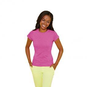 T-shirt donna a maniche corte da 151 g/m2 (bianco: 141 ...