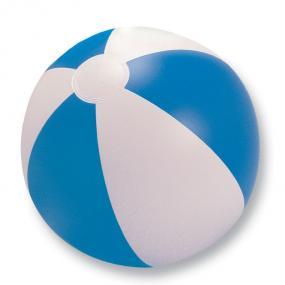 Pallone da spiaggia gonfiabile bicolore. In PVC.
