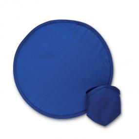 Frisbee pieghevole in poliestere con custodia.