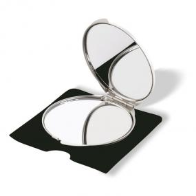 Specchietto in alluminio con riflesso normale ed ingran...