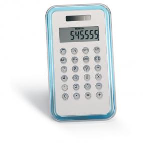 Calcolatrice 8 cifre ad alimentazione solare o con una ...