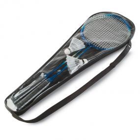 Gioco Badminton per 2 persone in custodia di plastica.