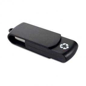 USB Flash Drive in plastica riciclata con meccanismo a ...