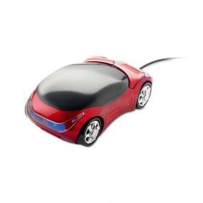 Mouse ottico USB a forma di automobile con rotella per ...