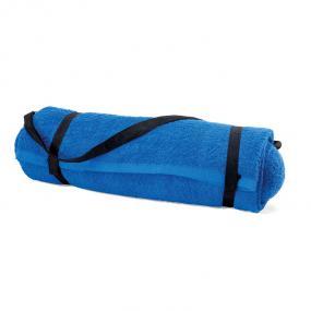 Asciugamano da mare con cuscino. In cotone 350gr/m².
