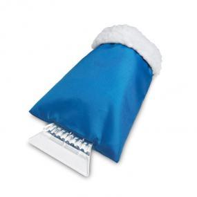 Guanto raschiaghiaccio in plastica con protezione imbot...