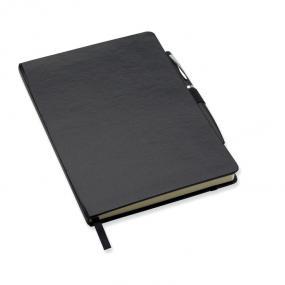 Notebook A5 con copertina rigida, 72 pagine a righe , e...