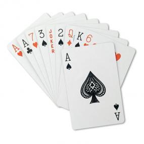 Carte da gioco in confezione in PP. 54 carte.