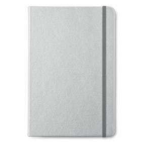 Notebook A5 con cover morbida in PU, con elastico coord...