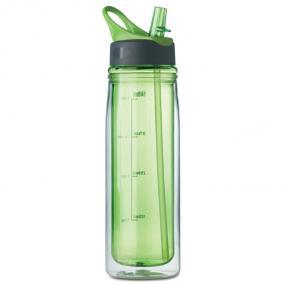 Bottiglia in Tritan (BPA free) da 550 ml con doppia par...