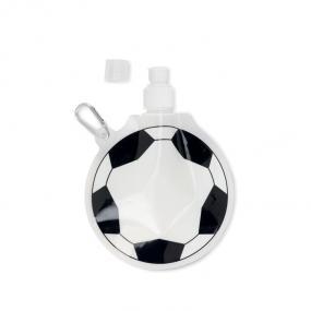 Borraccia morbida a forma di pallone da calcio, in BPA....
