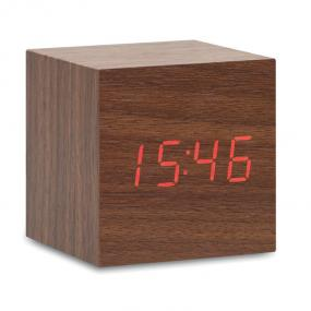 Orologio con display LED con sveglia e temperatura. In ...