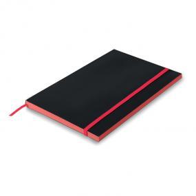 Notebook A5 con copertina in carta e pagine a righe. La...