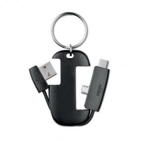 Portachiavi smart con connettori integrati: USB, micro ...