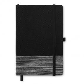 Quaderno A5 con copertina in non woven. 80 pagine a rig...