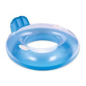 Ciambella gonfiabile in PVC, con maniglie lateralie pog...