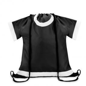 Sacca a forma di maglietta in poliestere 210D, con coul...