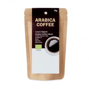 Caffè arabico organico macinato. Tostato in Italia. Ad...