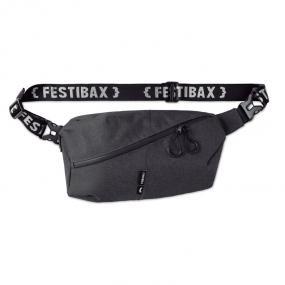 Festibax® Basic. Borsa a tracolla in poliestere tono s...