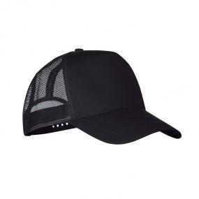 Cappellino da camionista, 5 pannelli, in poliestere con...