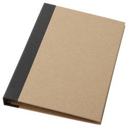 Piccolo portadocumenti con block notes formato A5, penn...
