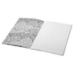 Pagine colorate e carta a righe per appunti. Carta.