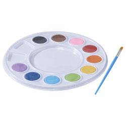 Il set di pittura comprende 10 colori vivaci e un penne...