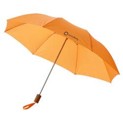 """Ombrello 2 sezioni 20"""" con impugnatura in plastica e te..."""