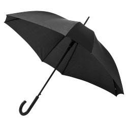 Ombrello quadrato con telaio e stecche in metallo e man...