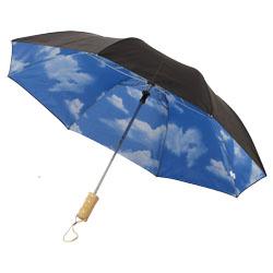 """Ombrello automatico 21"""" con cupola in doppio strato di ..."""