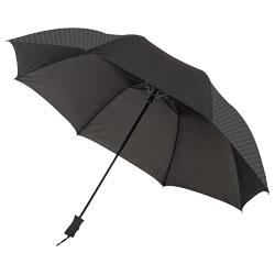 Ombrello dal design geometrico. Asta in metallo e stecc...