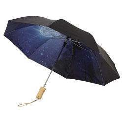 """Ombrello da 21"""" con doppio strato di poliestere pieghev..."""
