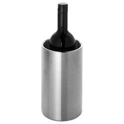 Refrigeratore per vino a doppia parete in acciaio inox....
