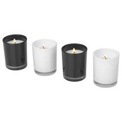 Le candele nere hanno una fragranza allo zenzero, le ca...