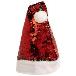 Splendido cappello di Natale con paillettes scintillant...