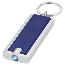 Anello portachiavi in metallo. Batterie incluse.
